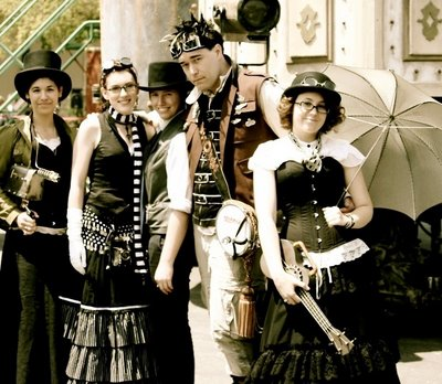 Image result for steampunk people