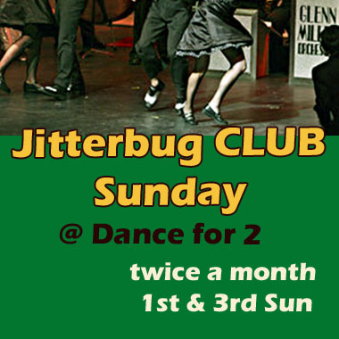 Jitterbug CLUB Sundays hosted by 2toGroove