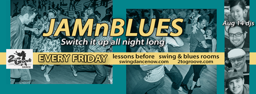 A 2toGroove event   JAMnBLUES Fridays